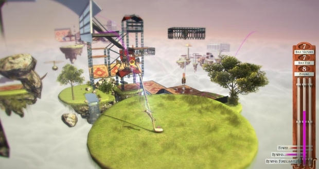 Hands On Vertiginous Golf Rock Paper Shotgun