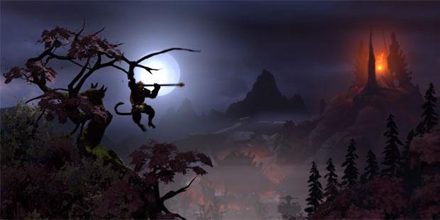 Watch Dota 2 Monkey King Teaser Trailer Rock Paper Shotgun