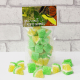 Image of Mojito Gourmet Gummies pouch. Cocktail themed chewy sweets.