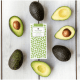 Image of the avocado organic dark chocolate bar. From Love Cocoa. James Cadbury.
