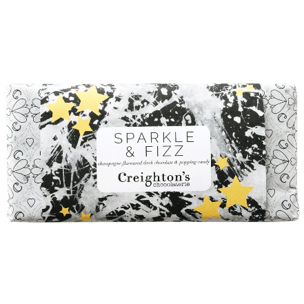 Sparkle & Fizz Dark Chocolate Bar