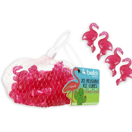 Image of the Flamingo Reusable Ice Cubes
