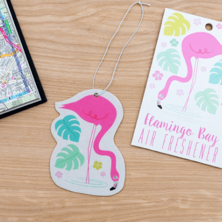 Image of the flamingo bay air freshener