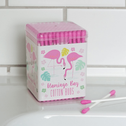 Image of the flamingo bay cotton buds