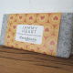 Image of the jammy heart chocolate bar from creightons