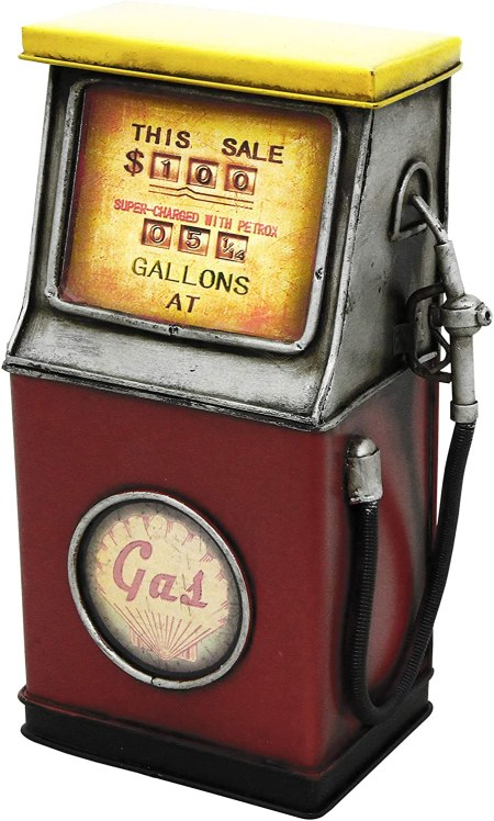 Image of the kreatif kraft petrol pump