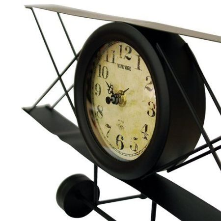 Image of the vintage plane style mantle clock