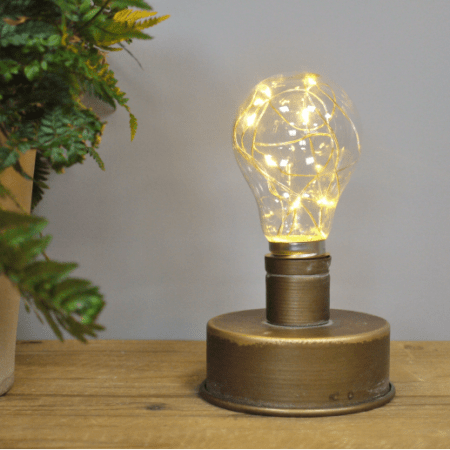 Image of an industrial style lamp