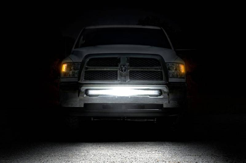 Rough Country Dodge 40 Inch Curved Led Light Bar Hidden