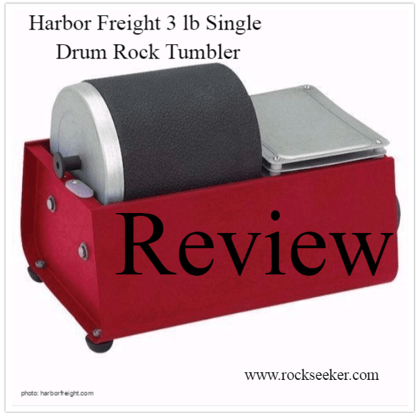 Harbor Freight Rock Tumbler Review Best Tumbler For The Money