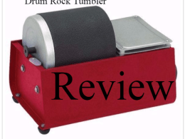 harbor freight rock tumbler review