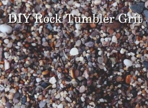 DIY rock tumbling grit substitute make your own tumbling medium