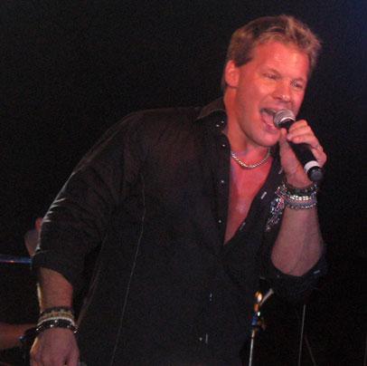 Chris Jericho singing