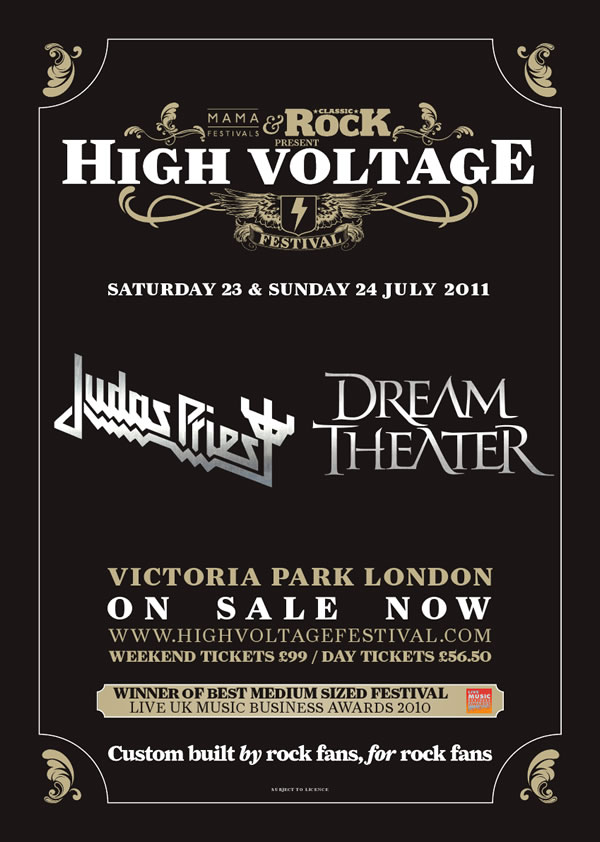 High Voltage Festival Lineup 2011