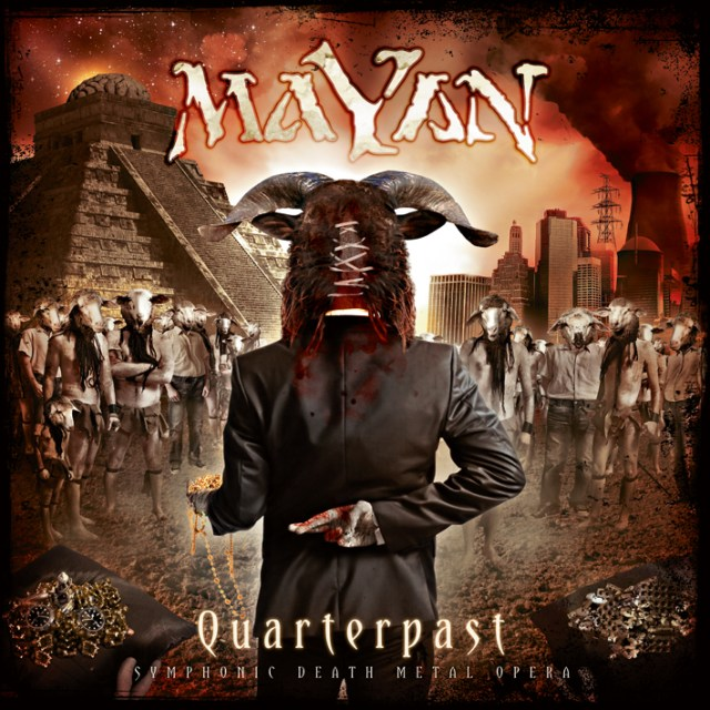 Mayan - Quarterpast Album Cover