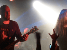 Insomnium on stage at The Camden Underworld, London, November 2011