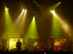 Rise To Remain on stage at Defenders Of The Faith 3 at Brixton Academy