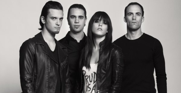 Halestorm Band Photo 2012