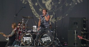 Chris Jericho & Fozzy on stage at Download 2012