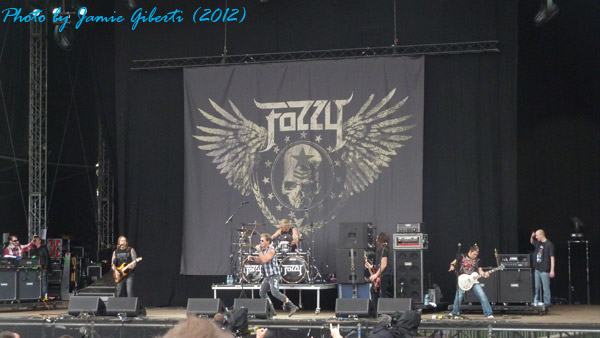 Fozzy on The Zippo Encore Second Stage at Download 2012
