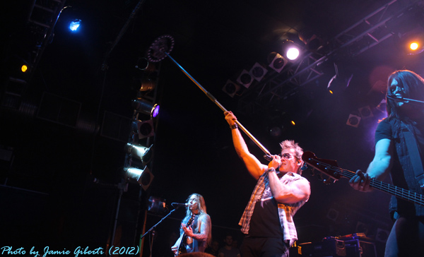 Fozzy live on stage at London's Electric Ballroom (December 2012) - Photo 4