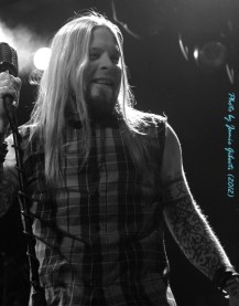 Soil singer Ryan McCombs on stage at London's Electric Ballroom December 2012 - Photo 3