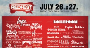 Redfest 2013 Hype Stage Header Banner