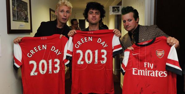 Green Day at Emirates Stadium 2013