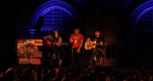 Patent Pending on stage at Union Chapel 2013