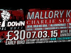 Takedown Festival 2015 Second Poster Header Image
