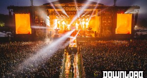 Slipknot at Download Festival 2015 from the Sound Tower by Danny North