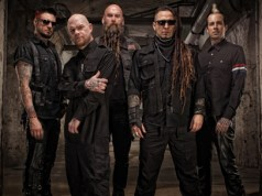 Five Finger Death Punch 2015 Band Promo Photo