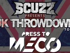 Scuzz UK Throwdown Tour Poster 2016 Header