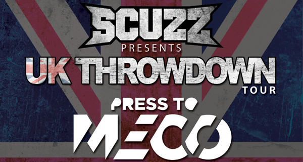 Scuzz UK Throwdown Tour Poster 2016 Header