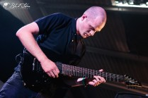 Cold Night For Alligators on stage at UK Tech-Metal Fest 2016 8th July 2016