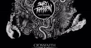 Bury Tomorrow Crossfaith 2017 UK Tour Poster