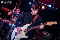Black Coast on stage at The Black Heart London 18th January 2017