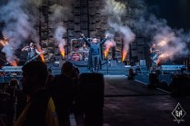 Disturbed on stage at Manchester Arena 16th January 2017