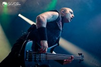 Trivium on stage at Roundhouse London 17th February 2017