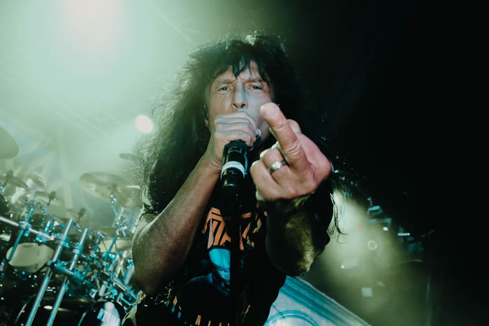 Anthrax on stage at Rock City 13/02/2017