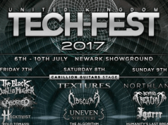 UK Tech-Fest 2017 Final Line Up Poster Header Image