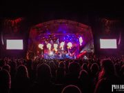 Amon Amarth full stage view on the opening night of Bloodstock Open Air Festival 2017