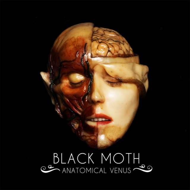 Black Moth Anatomical Venus Album Cover Artwork