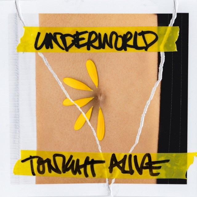 Tonight Alive Underworld Album Cover Artwork