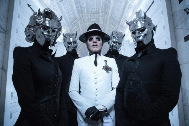 Ghost Band Promo Image 2018