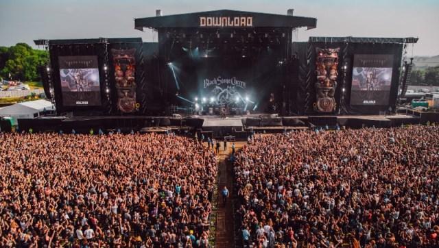 Black Stone Cherry Download Festival 2018 Matt Eachus Crowd Shot