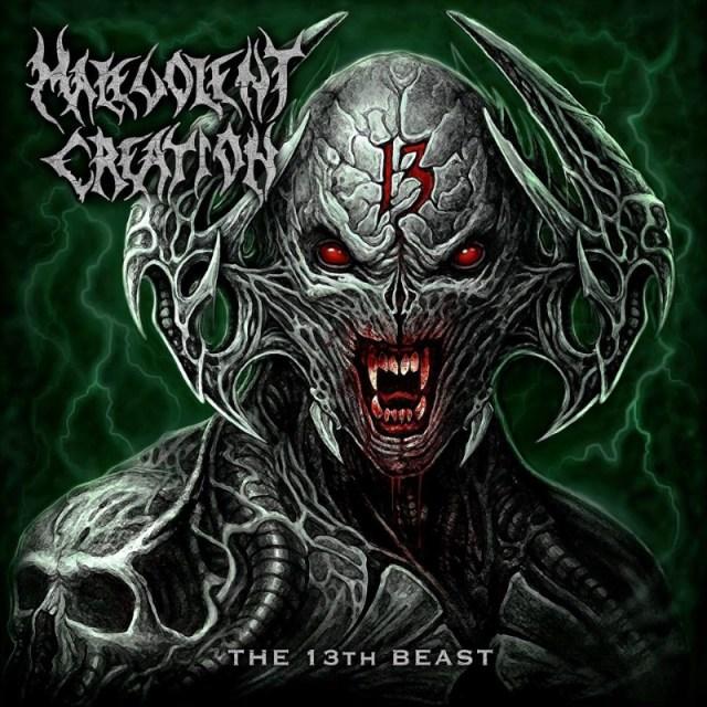 Malevolent Creation The 13th Beast Album Cover