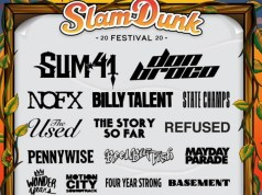 Slam Dunk Festival 2020 Third Line Up Announcement Header