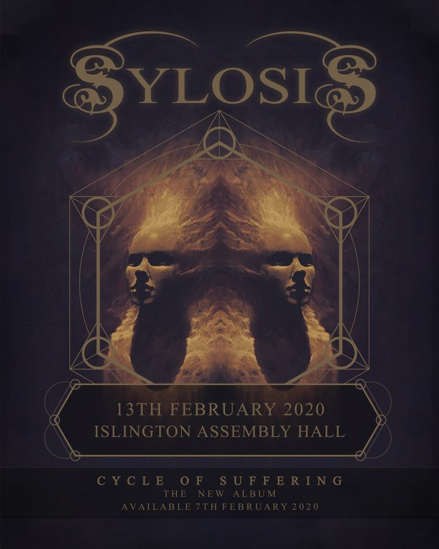 Sylosis Islington Assembly Hall February 2020 Show Poster