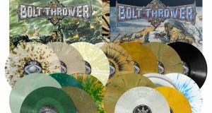 Bolt Thrower - Three Album Vinyl Re-Issues